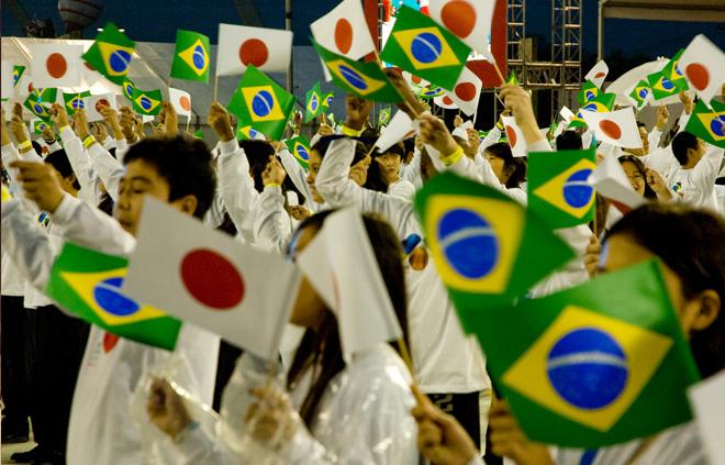 Resultado de imagem para brasil -  japones